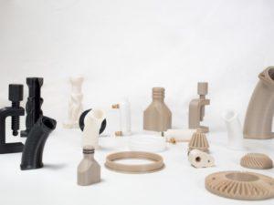 3D printed PEEK
