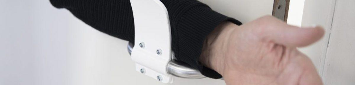3D printed door handle