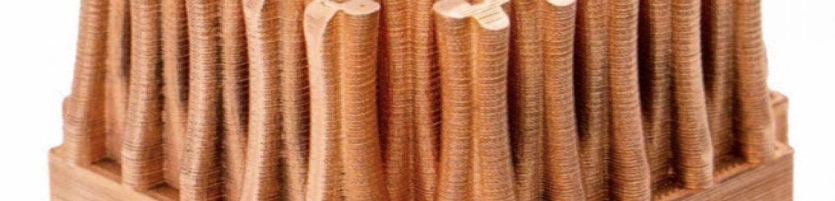 3D printed copper